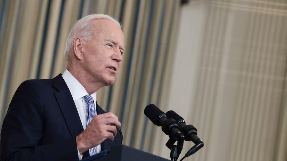 President Biden Addresses COVID-19 Response And The Vaccination Program