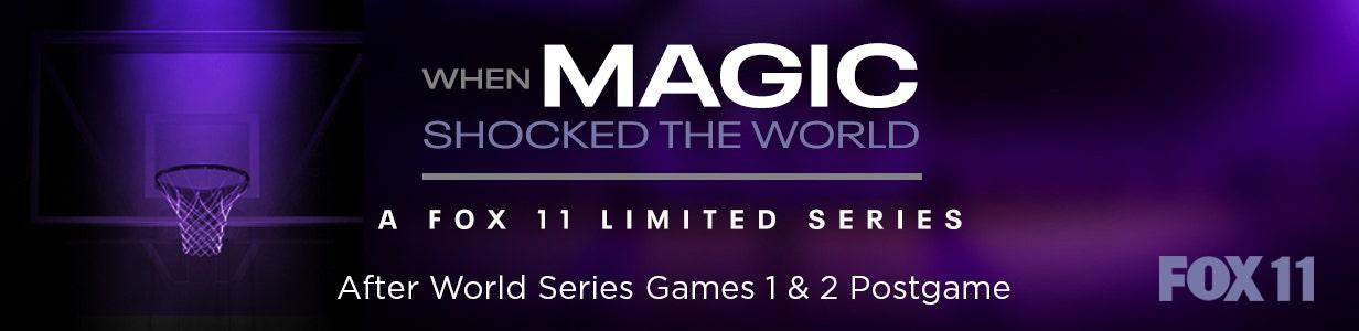 When Magic Shocked the World