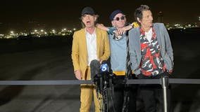 The Rolling Stones arrives in SoCal ahead of SoFi Stadium concert