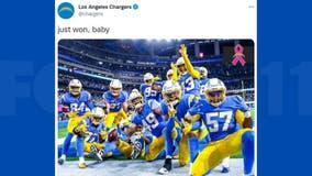 Herbert, Ekeler propel LA Chargers to over Las Vegas Raiders