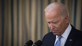 Biden's approval rating falls as crises take toll on popularity, poll shows