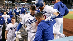 Dodgers lose 9-2, trail NLCS three games to one