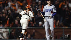 NLDS Game 1: Dodger bats struggle to figure out Giants' Webb in shutout loss