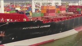 Investigators board massive cargo ship docked in Oakland amid ongoing probe of ruptured pipeline