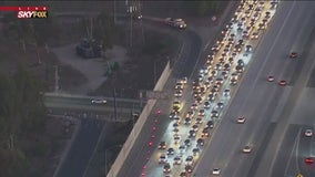 Officials investigate deadly crash on 170 Freeway in Sun Valley