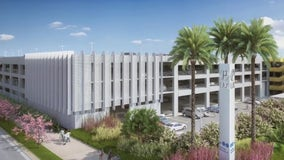 Ribbon-cutting ceremony held for new LAX economy parking garage