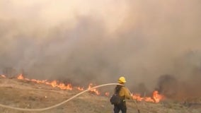 Alisal Fire: Crews make big gains against massive blaze