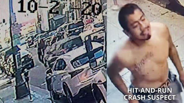 Shocking video captures moment hit-and-run driver crashes into person in e-scooter in downtown LA