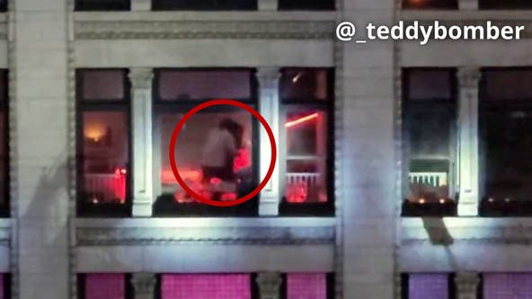 Possible hostage situation under investigation at downtown Los Angeles high-rise building