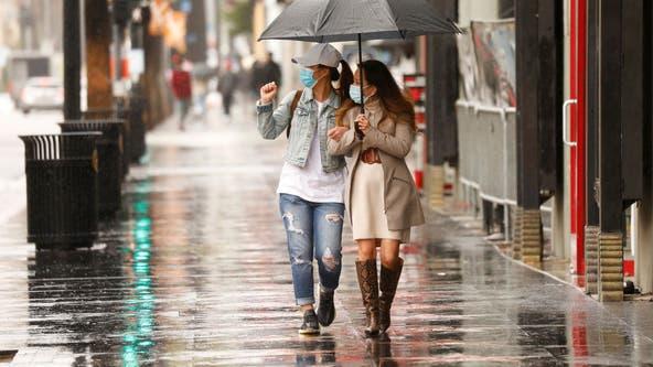Powerful storm brings significant rain across California