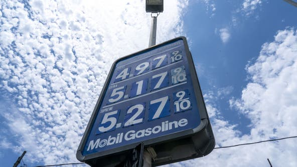 Gas prices in Los Angeles County rise to highest amount since 2012