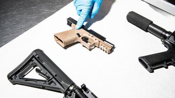 LAPD: Ghost guns an 'epidemic' in Los Angeles, with 400% increase since 2017