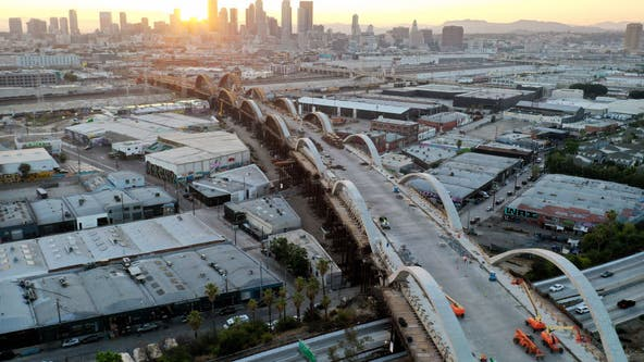 Weekend closure of 101 freeway near DTLA planned for viaduct project