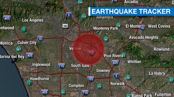3.6 magnitude earthquake reported near Maywood