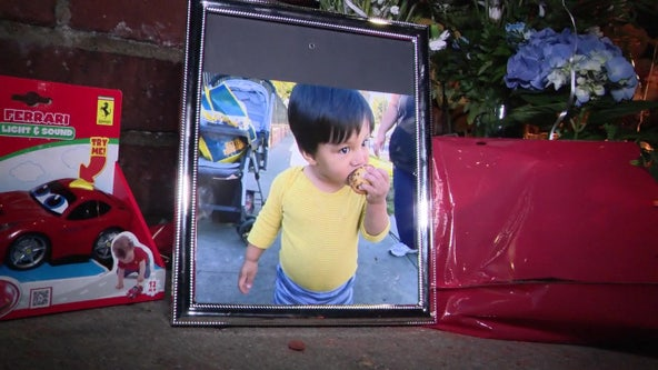 Toddler dies after vehicle strikes pedestrians in North Hills; hit-and-run driver sought