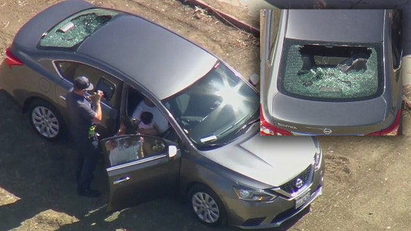 Child injured after rock possibly thrown from overpass above the 101 Freeway, CHP says