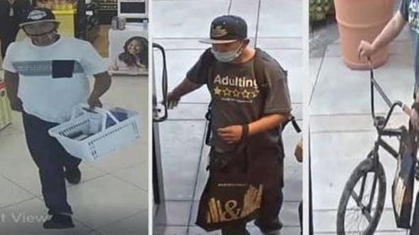 LASD looking to identify suspect who stole items from two Calabasas cosmetic stores