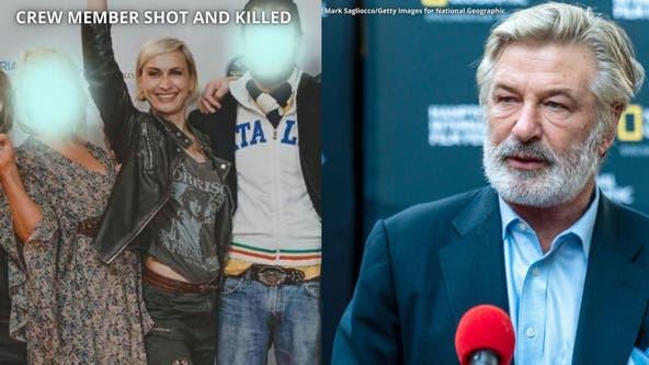 Alec Baldwin misfires prop gun on movie set, killing woman, injuring man, reports say