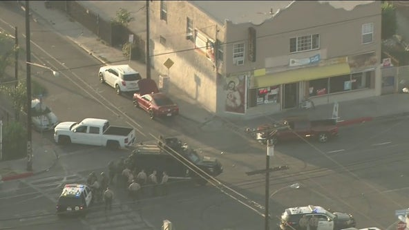 Suspect in custody after standoff with deputies at liquor store in South LA