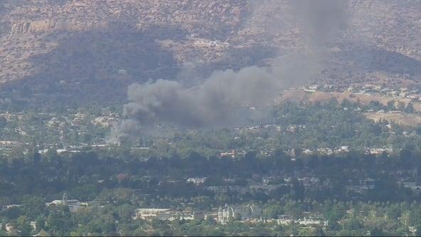 Canoga Park explosion: Firefighters battling blaze at reported marijuana grow operation