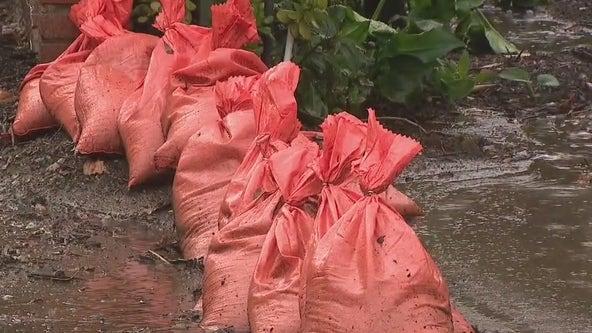 Fire officials prepare ahead of possible heavy rain Sunday into Monday