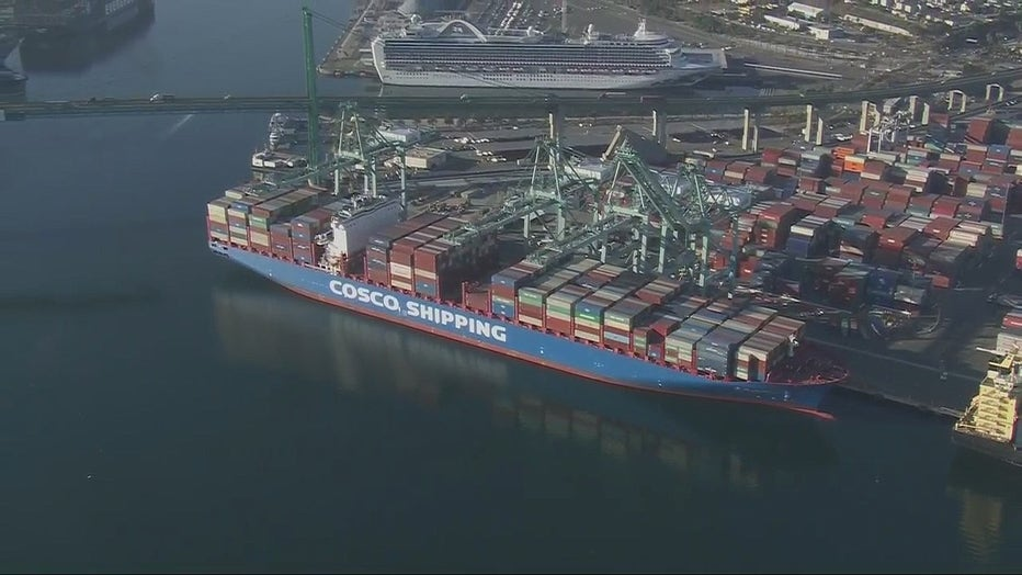 Cargo Activity at Los Angeles Port Surges Amid Shift to 24/7 Schedule