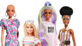Mattel introduces new Barbie dolls with no hair, skin condition vitiligo in effort to boost diversity