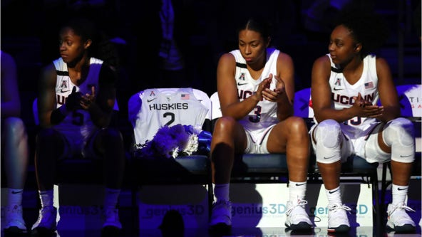 UConn, Gianna Bryant's dream school, honors late teen with team jersey: 'Forever a Husky'