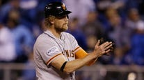 Giants outfielder Hunter Pence announces retirement after 14 years