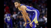 Curry hopes to return from broken hand 'in early spring'