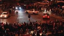 SFPD investigating shooting during sideshow involving 100 vehicles