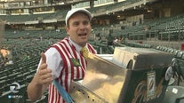 Roving A's hot-dog vendor working on PhD, is also vegetarian
