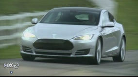 Tesla self-driving car put to the test