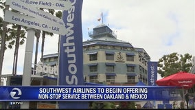 Southwest launches Oakland-Mexico service