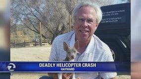 Flight school owner-instructor killed, student injured in Hayward helicopter crash