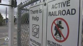 Caltrain to install suicide prevention cameras in Palo Alto