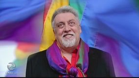 Castro vigil held for rainbow flag creator, Gilbert Baker, dead at 65