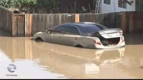 San Jose residents clean up after flooding