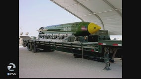 US hits Afghanistan with largest non-nuclear bomb ever used