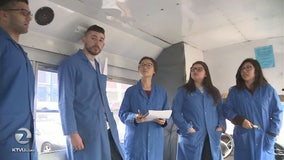 Professor living out of car may live in SJSU engineers' converted school bus
