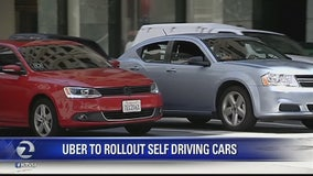 Uber rolling out self driving cars