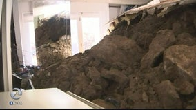 Mudslide crashes into Orinda home, gets red tagged