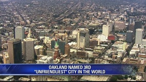 Oakland named 3rd unfriendliest city