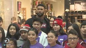49er defensive tackle Deforest Buckner treats San Jose kids to shopping spree