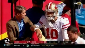 49ers confirm Garoppolo has torn ACL