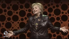 Hillary Clinton delivers keynote address to businesswomen's group in San Francisco