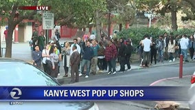 Kanye West pop-up store proves popular in SF Chinatown