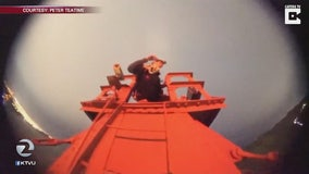 Golden Gate Bridge officials promise tighter security after dangerous stunt caught on camera