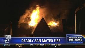 Person killed in San Mateo blaze