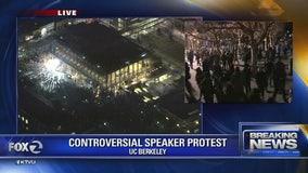 Protests erupt at UC Berkeley